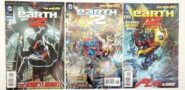 Earth 2 #1 & 2 Annual #1 New 52 Set of 3 Comics Lot DC Comics 1st Prints - $14.49