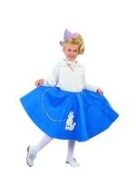 RG Costume Blue Poodle Skirt - Child Medium - $28.59