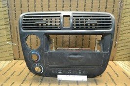 01-04 Honda Civic Radio Bezel Dash Trim 77280S5AA01023 Panel 251-11E3 - $18.49