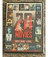 20 Horror Movies (DVD, 4-Disc Set, Echo Bridge) BRAND NEW / FACTORY SEALED  - $9.99