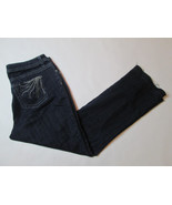 Lee Women's Jeans Size 20W Medium Slender Secret Low Waist Dark Denim De... - $19.99