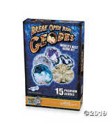 Worlds Best Geode Kit Crack Open 15 Rocks and Find Crystals! - $66.19