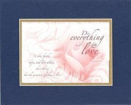 For Romance - Do Everything in Love . . . 11 x 14 Inches Biblical/Religi... - $15.79