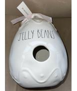 """Rae Dunn 2021 Ceramic Easter Egg Shaped JELLY BEANS LL Birdhouse NEW 9"""" - $45.99"""