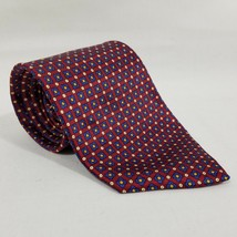 Lauren Ralph Lauren Neck Tie - RED WITH YELLOW SQUARES - $14.84