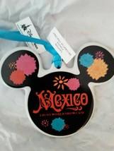 Disney World Epcot Mexico Pavilion Mickey Ceramic Ornament, NEW - $30.00