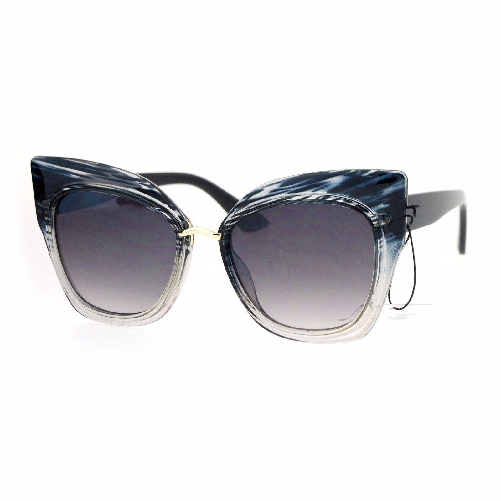 Oversized Fashion Sunglasses Womens Square Cateye Butterfly UV 400 image 9