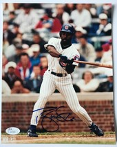 BRIAN MCRAE SIGNED 8X10 JSA COA PHOTO AUTOGRAPH 8X CHICAGO CUBS - $29.95