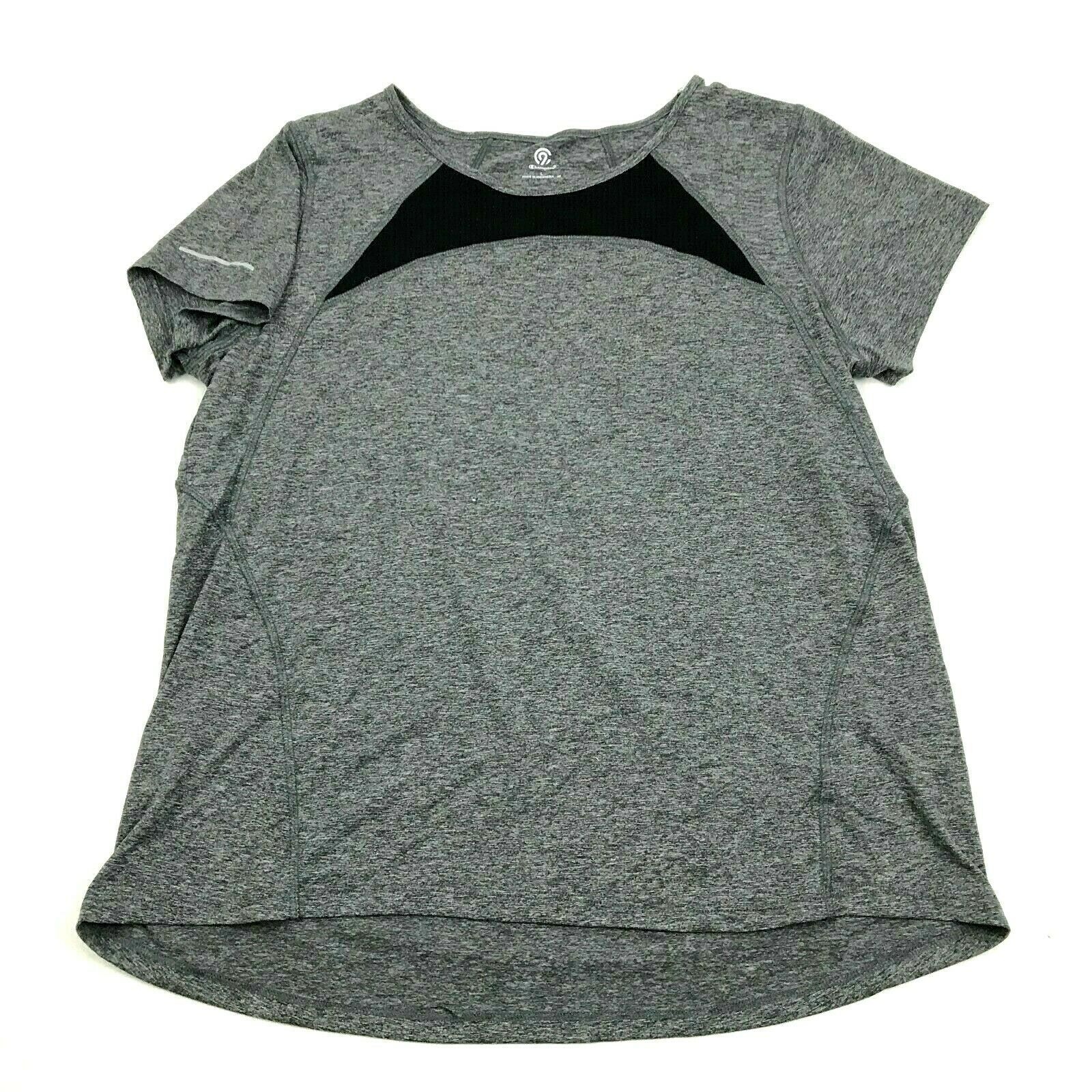 Primary image for CHAMPION Dry Fit Shirt Women's Size Large Loose Fit Tee Athleisure Active Wear