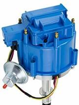 HEI Distributor - Amc Jeep 232-258 6-Cyl Engines, 50K V Coil, Blue Cap image 2