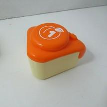 LeapFrog Musical Rainbow Tea Set Cake Slice Replacement Part orange peach #1 - $4.94