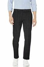 Mens Straight-Fit  Dress Chino Pants Casual Pants black herringbone SZ 31W X 36L