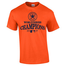 2017 World Series Champions Houston Astros MLB Graphic T- Shirt Vintage ... - $14.80+