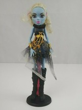 """Monster High Abby Bominable 13 Wishes 11"""" Doll Gold Glitter Abbey - $21.17"""