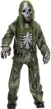 Fun World Squelette Zombie Horreur non Mort Garçon Enfant Déguisement Halloween - $34.45+