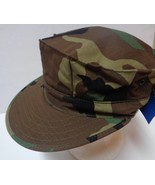 Camouflage Military Army Hat NWOT Made in USA Sz Medium  - $13.99