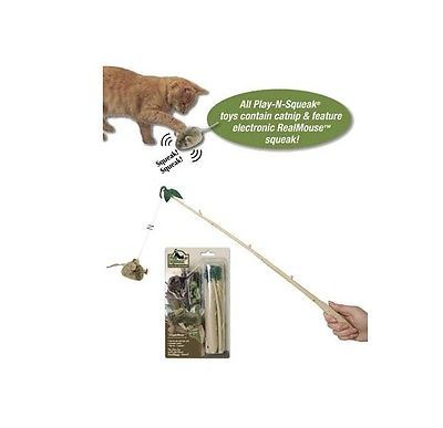 Dangle Mouse for Cat Toy - Elctronic Real mouse sound