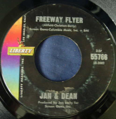 Jan & Dean - From All Over the World / Freeway Flyer - Liberty 55766