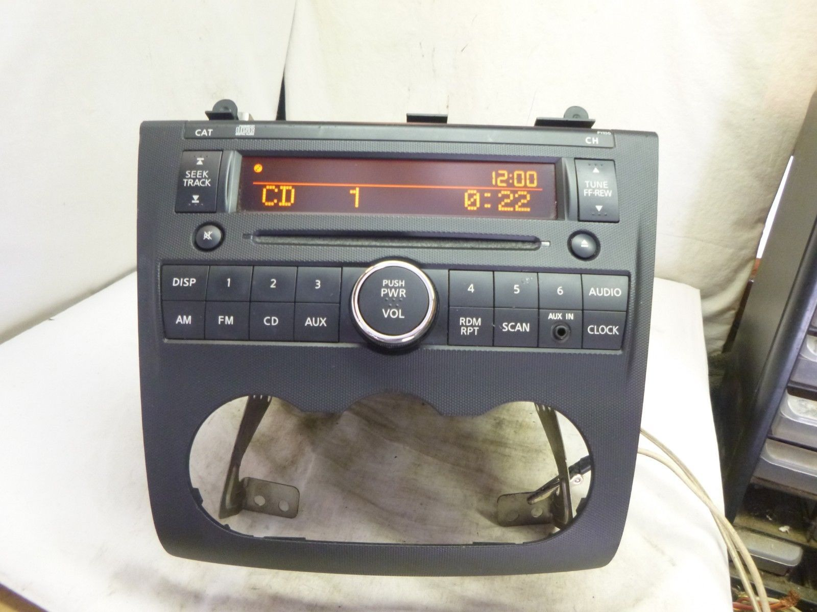 10 11 12 Nissan Altima Radio Cd Player PY03G and 50 similar items Harness Nissan Wiring Altima Py G on