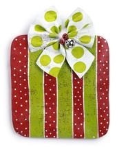 Striped Polka Dotted Present Door Hanger Peri Woltjer Screenings - $51.00