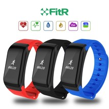 UK FitR Blood Pressure Heart Rate Monitor Smart Fitness Tracker Bracelet... - $23.44