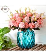 1Bunch European Artificial Flower Fake 10 Heads Hydrangea Bouquet Weddin... - $3.50