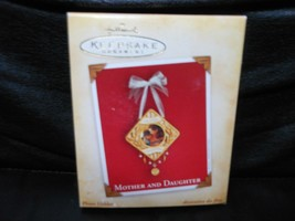 "Hallmark Keepsake ""Mother And Daughter"" 2004 Photo Holder Ornament NEW - $4.01"