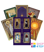 THE BYZANTINE TAROT WISDOM FROM AN ANCIENT EMPIRE CARDS BOOK SET SCHIFFE... - $57.71