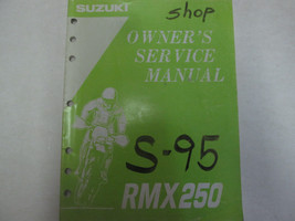 1995 Suzuki RMX250 Owners Service Manual Used Writing Factory Oem Book *** - $24.74
