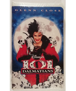 101 Dalmatians VHS Movie New Factory Sealed (VHS, 1997, Clam Shell) - $18.00