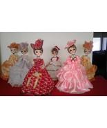 "Vintage Big Eye Bradley Rag Doll 13"" Made in KoreaLot of 5 Dolls - $50.00"