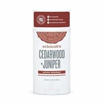 Schmidt's Deodorant Stick, Cedarwood + Juniper, 3.25 Ounce - $12.28