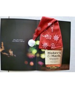 Christmas MAKERS MARK Bourbon Bottle Stocking Cap 2013 NEW IN SEALED PAC... - $9.74