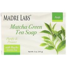 Madre Labs, Matcha Green Tea, Bar Soap, with Rosemary, Marula & Argan, 5... - $6.00