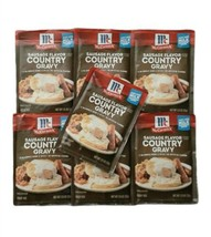 (7) McCormick SAUSAGE FLAVOR COUNTRY GRAVY Mix Lot Spices Packets Exp 7/... - $19.75