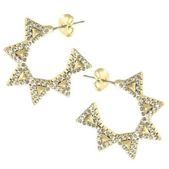 House of Harlow 1960 Jewelry Hoops Earrings