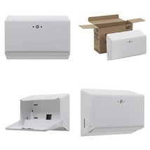 "Georgia-Pacific 54701 White Multifold Towel Dispenser, 11.63""W X 4.25""D ... - $38.10"