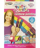 Washable Paint 'N Create Rainbow Painting - $14.85