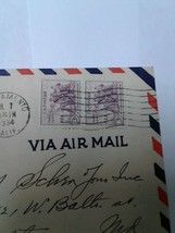 Us Postage July 7 1934 In A Common Determination Stamp Washington DC on ... - $8.90