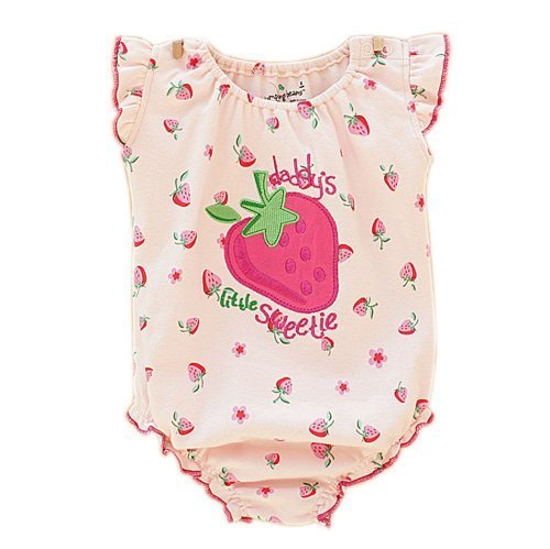 Strawberry Cute Baby Onesies Infant Creeping Bodysuit Toddlers Climbing Romper