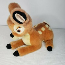 "Vintage Disney Plush Bambi Deer Fawn Stuffed Animal 14"" - $22.24"