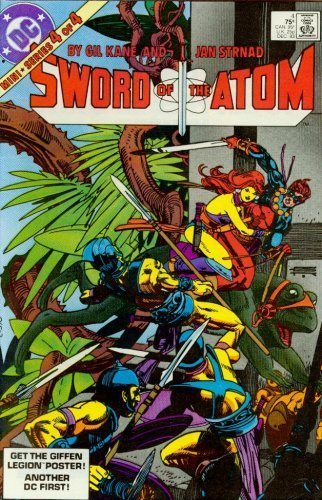 Sword of the Atom #4 [Comic] [Jan 01, 1983] Strnad, Gil Kane and Jan