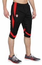 Training Pants PERU 3/4 Made in USA Black/Red - $25.99