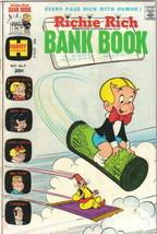 Richie Rich Bank Book Comic Book #7 Harvey Comics 1973 FINE+ - $7.84