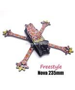 FPV Nova Freestyle 235 235mm True X frame 3k Full Carbon Fiber w/ 4mm ar... - $39.48