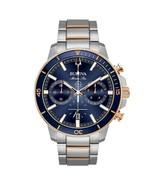 Bulova Men's Marine Star Chronograph Two-Tone Watch 98B301 45mm - $583.33