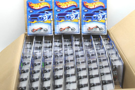 80pc 2000 First Editions Hot Wheels Blast Lane Motorcycle Mattel 096 Die... - $140.24