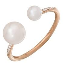 14KT Rose Gold Pearl Ring L25540 - $550.00