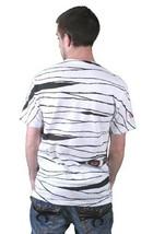 Tavik USA Fabriqué Hommes Blanc Égyptien Pharaohs Maman Peeking Yeux T-Shirt Nwt image 2