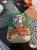 1990 Topps Baseball Card Empty Display Box - $31.19
